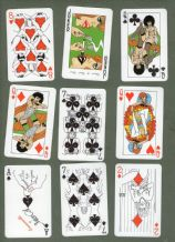 Collectible sensual Transformation playing cards Emanuelle